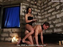 Russian-Mistress Video: Lisa tube porn video