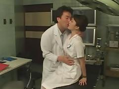 Cosplay Porn: Asians Nurses Cosplay Japanese MILF Nurse Fucked Doctors Office part 1 tube porn video