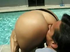 Butt Row: Eurostyle - Foursome with Peter North & Kelli Cage tube porn video
