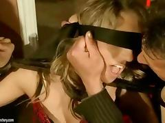 Hot girl gets bondaged and anal fucked tube porn video