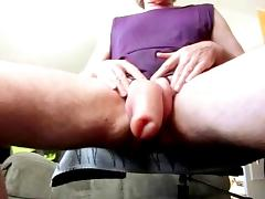 Shake my pumped foreskin cock tube porn video