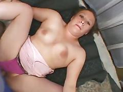 Chubby slut gives a titjob after doggy style sex in homemade scene tube porn video