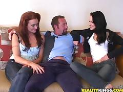 Adorable Viktoria And Her Hot GF Go Hardcore Doing A Threesome tube porn video