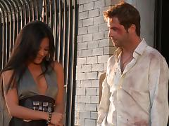Gorgeous Kaylani Lei gets her pussy licked and fucked doggy style tube porn video