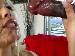 Interracial banging with blonde Bridgette B tube porn video