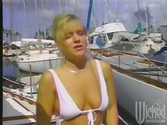 Wild Group Sex Outdoors on a Yacht at Sea tube porn video