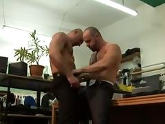 Kinky fuck boys kiss and play with their veiny peckers tube porn video