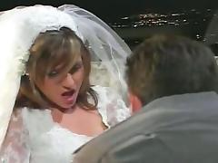 Anal sex on a wedding day tube porn video