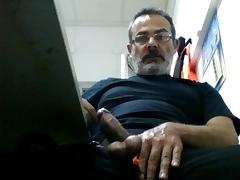 During work tube porn video
