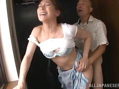 mature japanese housewife loves to have her nipples sucked tube porn video