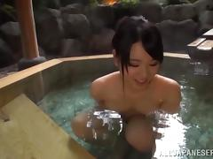 Pretty Riko Komori Goes Hardcore In A Hot Jacuzzi Outdoors tube porn video