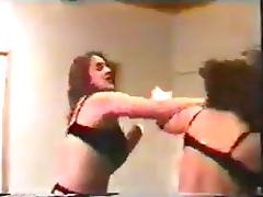 Lingerie & Stockings Catfight tube porn video