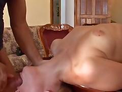 Appealing Dilettante Ukrainian Legal Age Teenager Cutie Screwed in Living Room tube porn video