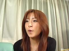 Sexy Manami Suzuki takes two cocks at the same time. tube porn video