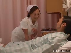 Spectacular Azusa Ishihara Goes Hardcore With A Hospital's Paitient tube porn video