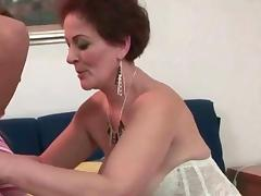 Grannies vs Young Girls licking pussy tube porn video