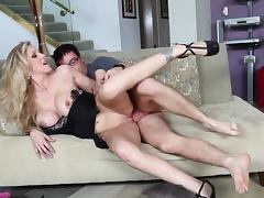 Julia Ann was fucked by cocky man Dane Cross tube porn video