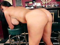 Hot sex with the busty bartender Mackenzee Pierce tube porn video