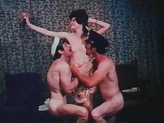 While the Cats Away 1972 (Threesome erotic scene) MFM tube porn video