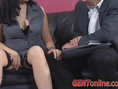 Horny MILF Carrie Ann, Only Has One Thing on Her Mind, Cock! tube porn video