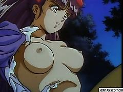 Caught hentai girl gets fucked by monsters nasty tentacles tube porn video