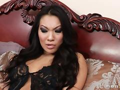 Asa Akira gets her butt licked and fucked remarcably well tube porn video