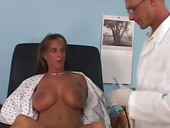 Busty MILF Holly Halston gets punished by horny doctor tube porn video