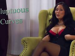 Jessica Bangkok brunette cumeater tube porn video