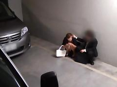 Office MILF Made Happy With A Fucking On Top Of Her Car tube porn video