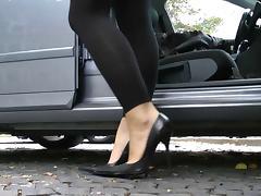 Ultimate Leather Heels Stilettos Shoes Cuir Leder 3 tube porn video