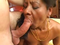 Ethnic MILF Takes It Hard From The Back tube porn video