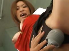 Seria Moroboshi Hot Asian nurse has sex in her lingerie tube porn video