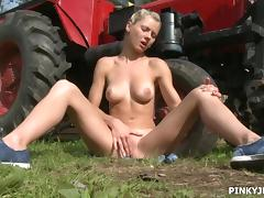 pinky as the farmer's daughter tube porn video