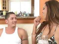 Francesca Le And Alex Gonz Go Really Hardcore Over A Couch tube porn video