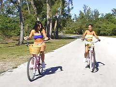 Beach ride honeys. tube porn video