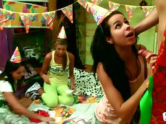 blowjob at the birthday party tube porn video