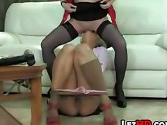 Two Naughty Lesbians tube porn video