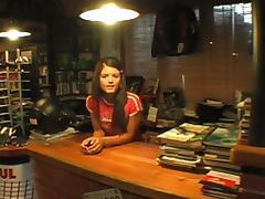 Veronika in the Bike Shop tube porn video