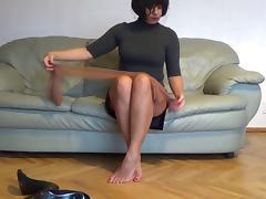 Sexy nylons tube porn video