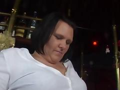 Chubby german mature fucked in a bar tube porn video