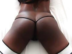 Black butt hottie Jada Fire gets drilled anal hardcore with a tit fuck tube porn video