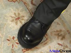 MenOver30 Video: Cock Bent for Leather tube porn video