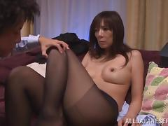 Japanese hot mature babe gets fucked and sucked in position 69 tube porn video