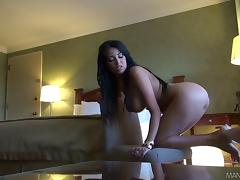 Anissa Kate jumps on a cock after passionate oral sex tube porn video