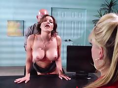 Krissy Lynn gets fucked from behind tube porn video