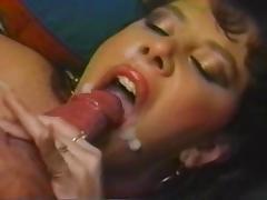 Frankie Liegh vintage long nails BJ tube porn video