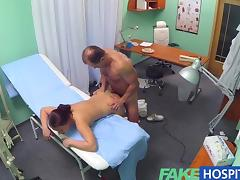 FakeHospital Gorgeous cleaning lady tube porn video