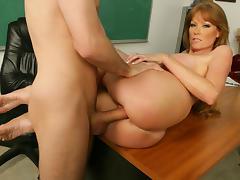 Darla Crane & James Deen in My First Sex Teacher tube porn video