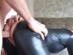 Catsuit fuck tube porn video